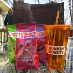 Partying with Dunkin' Donuts Seasonal Coffees