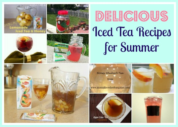 Delicious Iced Tea Recipes- Pretty Opinionated