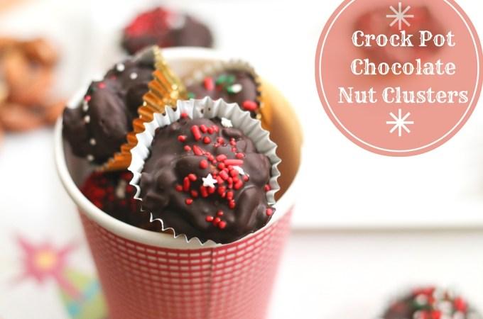 Crock Pot Chocolate Nut Clusters