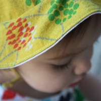 Summery Sun Hat with Free Downloadable Pattern!