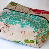 Man-Gift! Toiletry Bag with Oil Cloth Goodness