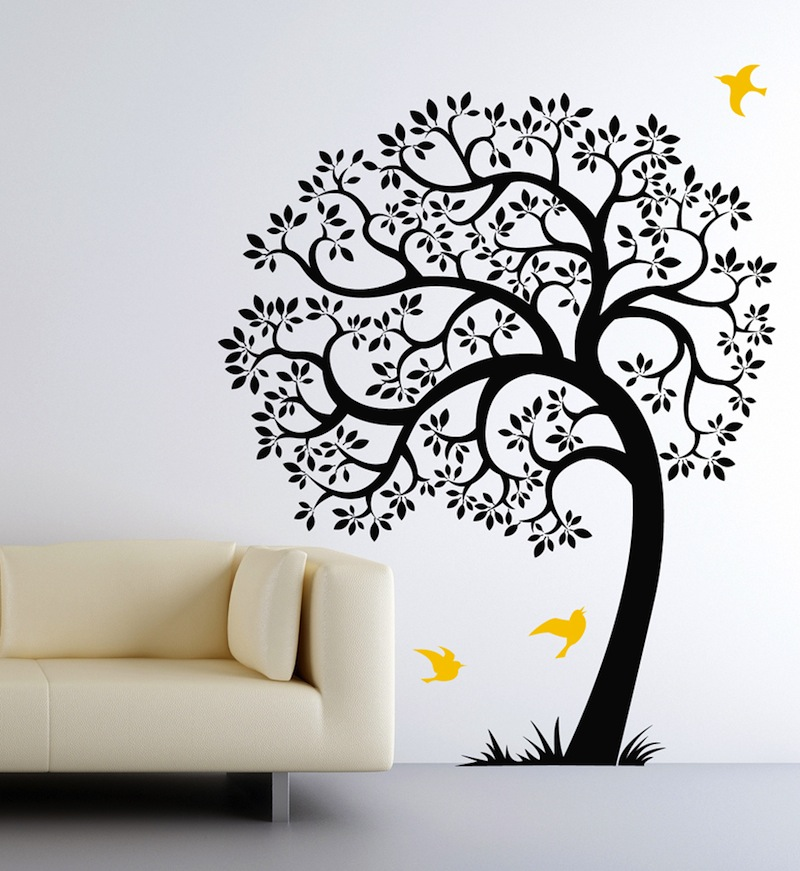 Popular Giveaway Colorful Leaves Tree Decal by Cherry Walls