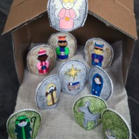 Easy DIY Nativity Set with FREE Printable