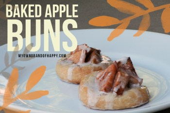 Simple Baking for Fall – Baked Apple Buns Revisted