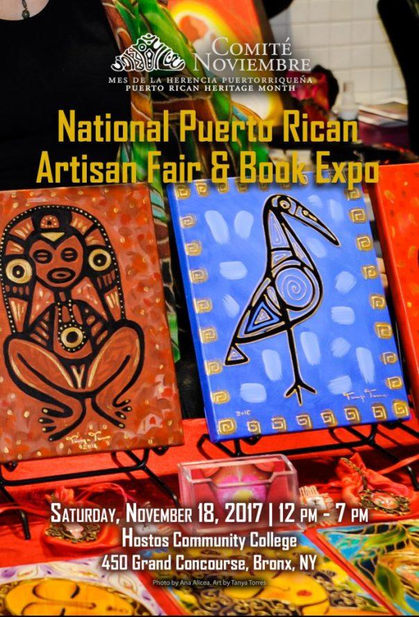 2017 National Puerto Rican Artisan Fair & Book Expo