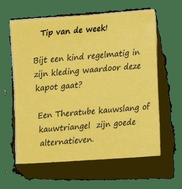 Tip van de week! wk 37 2012