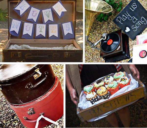 Vintage wedding decor hire quirky parties cape town for Quirky retro gifts