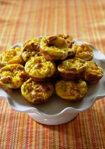 Sweet Pepper & Bacon Mini Egg Muffins