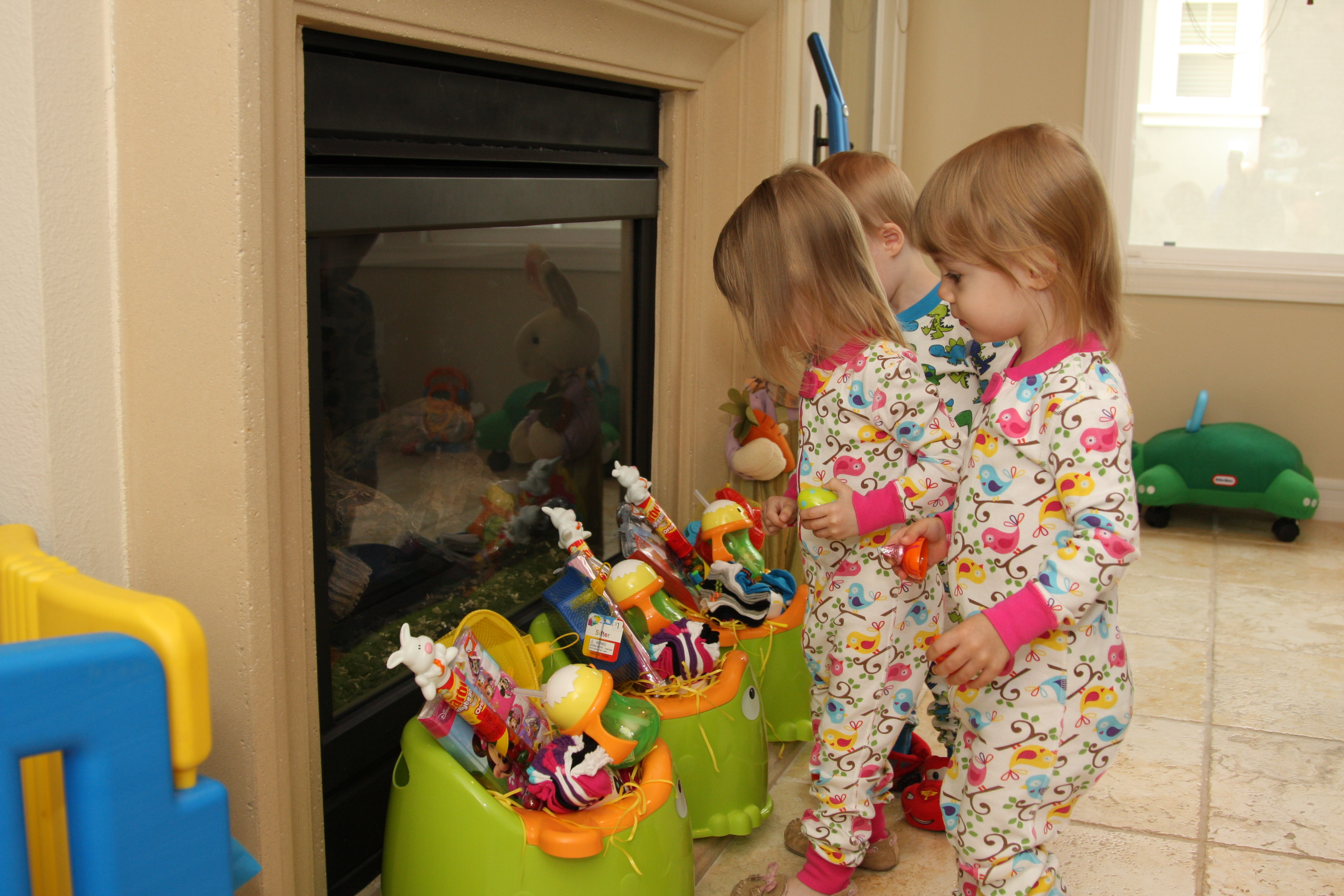 Make your own umbrella easter baskets non candy centered allergy potty training easter baskets negle Choice Image