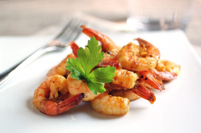 Paleo Red Curry Marinated Shrimp