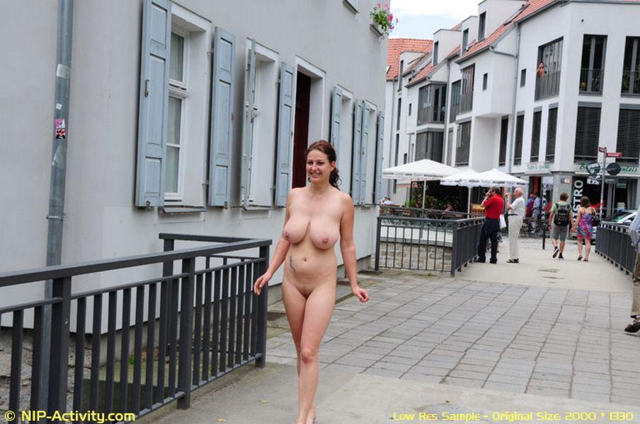 girls walking topless