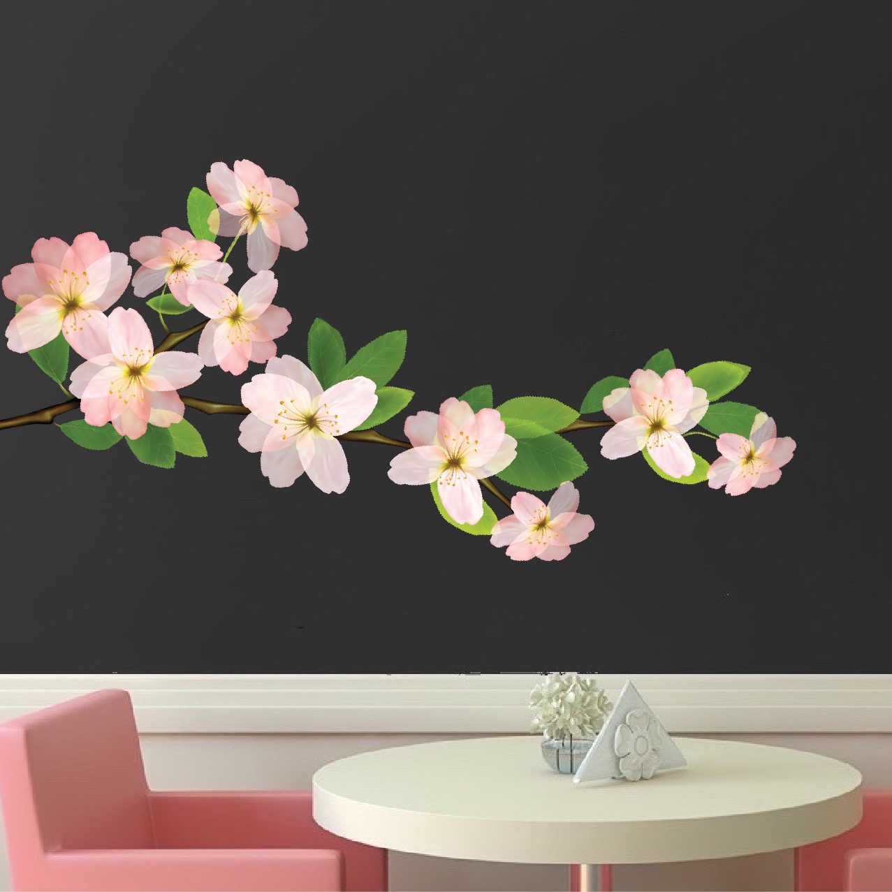 Fullsize Of Flower Wall Decals