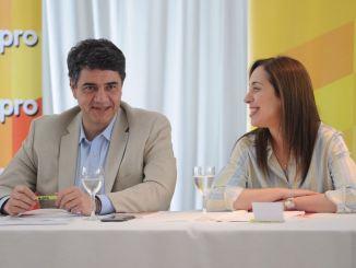 Jorge Macri y María Eugenia Vidal