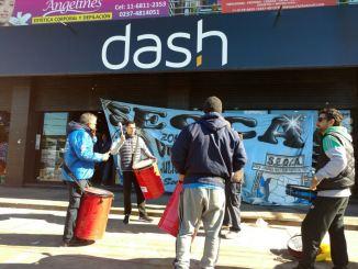 Protesta en Dash