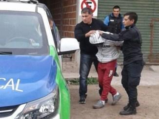 Menor detenido por crimen