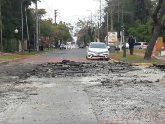 Reparan calles en Ituzaingó
