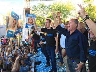 Cierre de campaña en Ituzaingó