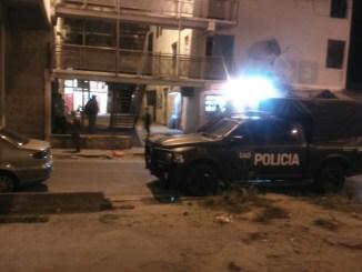 Allanamientos en barrio Carlos Gardel