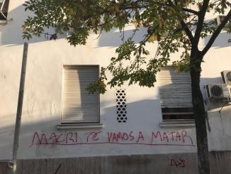 Amenazas a Macri en Morón