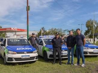 Zabaleta entrega patrulleros