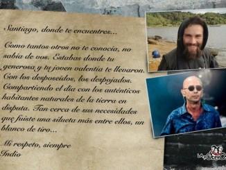 Carta del Indio Solari a Maldonado