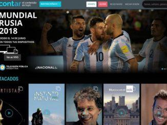 La plataforma ya está disponible con programación del Servicio de Medios Públicos y desde el 14 de junio podrán verse los partidos del Mundial Rusia 2018.