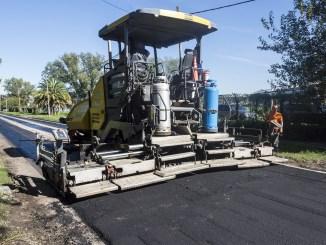 Renovación de calles en Morón