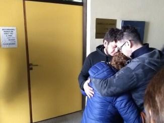 La mamá de Facundo Barreto, quebrada por el llanto luego de conocer el veredicto del TOC Nº 5 de Morón
