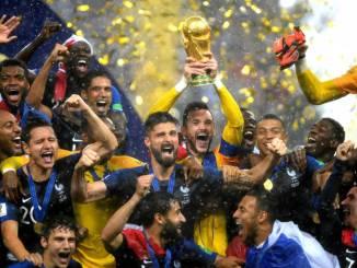 Francia bicampeón: obtuvo su segundo título mundial después de 20 años.