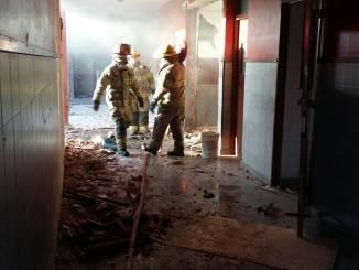 La explosión se produjo ni bien comenzado el horario escolar del turno mañana