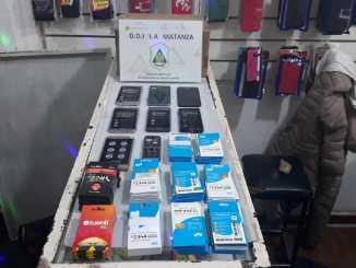 Operativo celulares robados