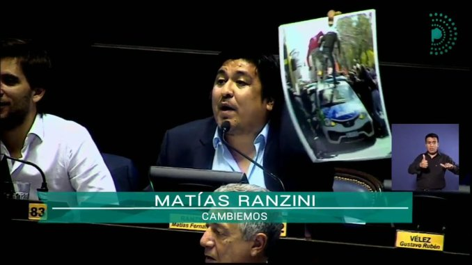 Diputado Matías Ranzini