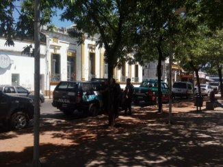 Allanamiento en Municipio de Moreno