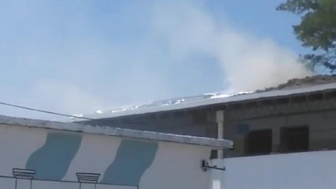Escuela incendio