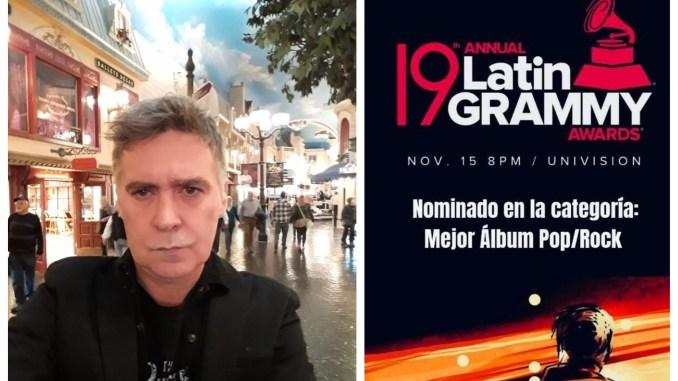 """Un """"cargoso"""" en Las Vegas: Rodrigo Manigot ya palpita en la mítica ciudad la previa de los Grammy Latinos"""