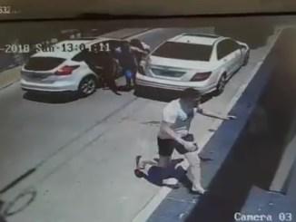 Intento de robo en Villa Sarmiento