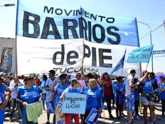 Protesta de Barrios de Pie