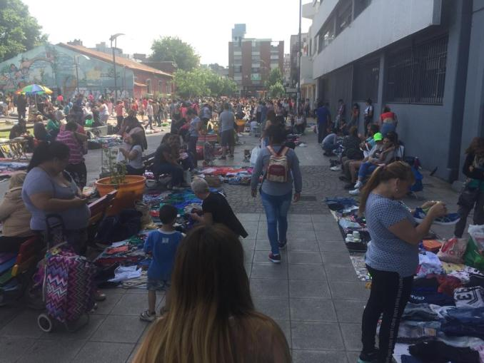 Feria de rebusque en Morón