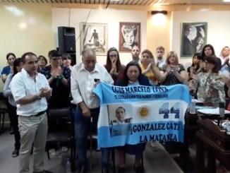 Luis Leiva, ciudadano ilustre de La Matanza