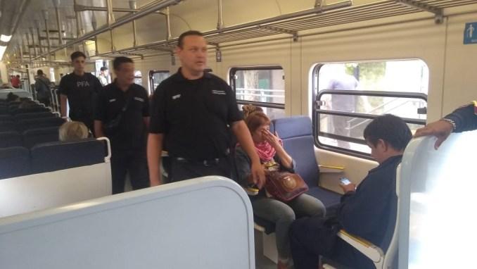 Brigadas en trenes