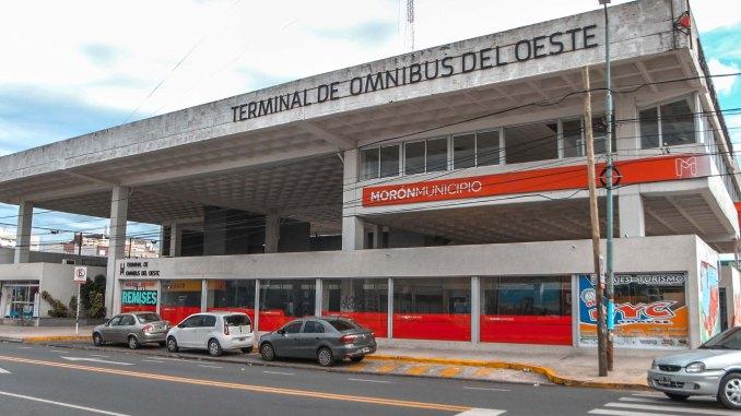 Nueva terminal de licencias en Morón