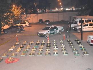 Secuestro de droga en Moreno