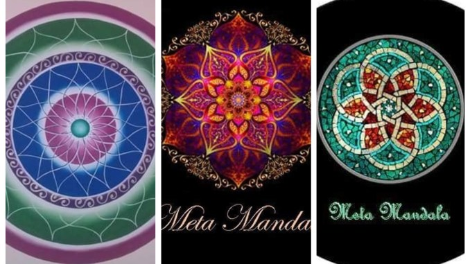 Mandala collage portada