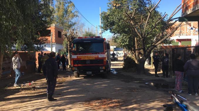 Incendio en Ituzaingó