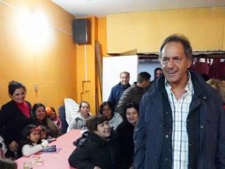 Scioli en Ituzaingó