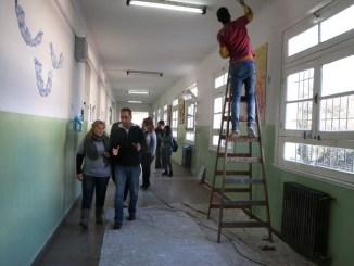 Obras en escuelas de Morón