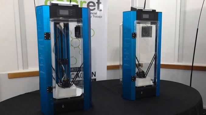 Impresoras 3D escuelas