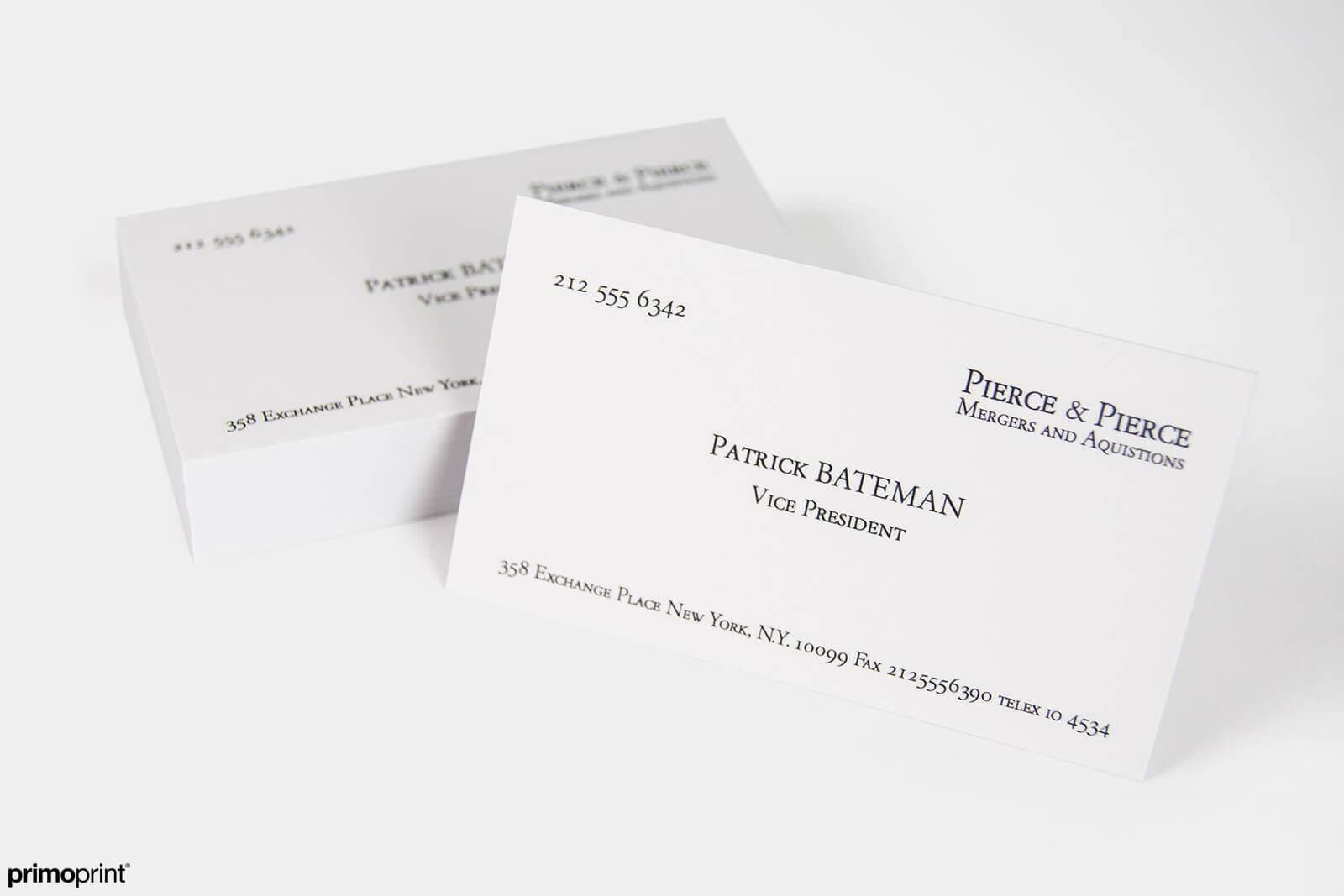 Fullsize Of Business Card Paper