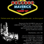 MAVERICK PR Prepares To Turn Lucky 13 With Big Birthday Bash