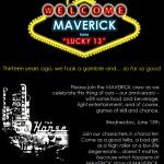 MAVERICK PR Prepares To Turn Lucky 13 With Big Birthday Bash